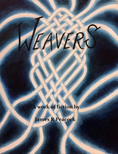 Cover proof for Weavers, Ages of the Seed vol 1. Oil on canvas by Mareta Pettigrew.
